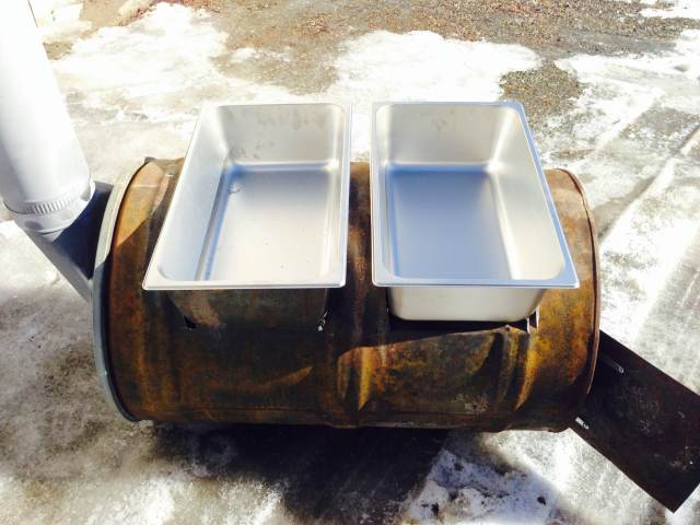 homemade maple syrup evaporator build with video to make maple syrup